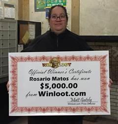 Winloot' $5,000 Winner